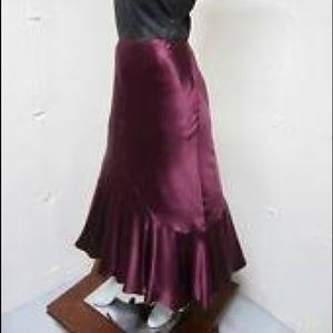MOVING SALE - Sundance Purple Hi-Lo Skirt